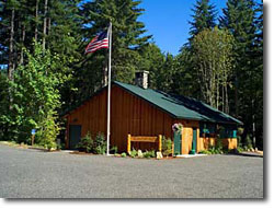 Timberlake Campground and RV Park main office